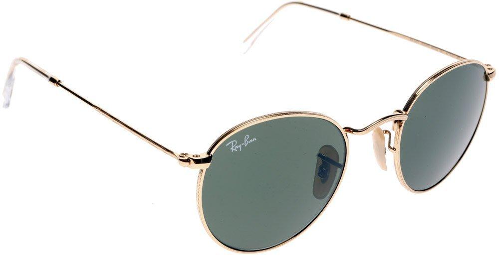 Ray Ban ROUND METAL Oro Verde clásico del G Gafas de sol