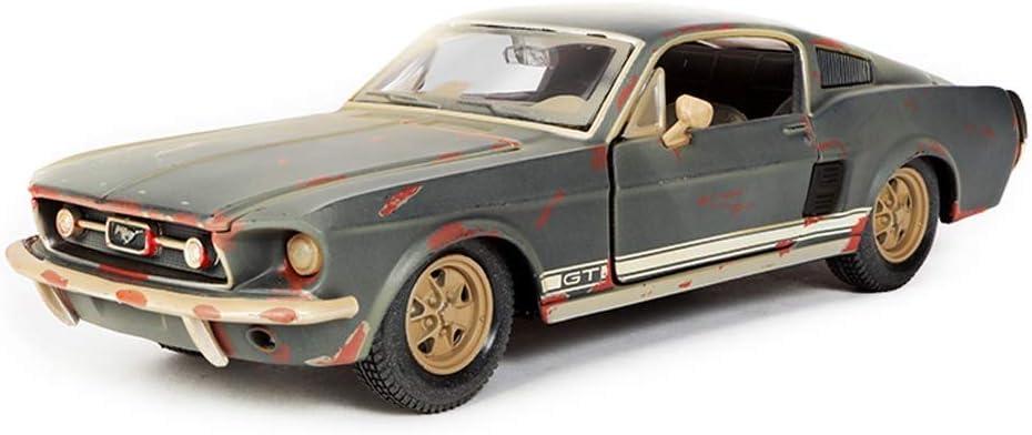 Pkjskh Retro clásico coche de cuatro puertas abiertas 01:24 Simulación de aleación coche Colección Adultos Adornos Modelo de juguete