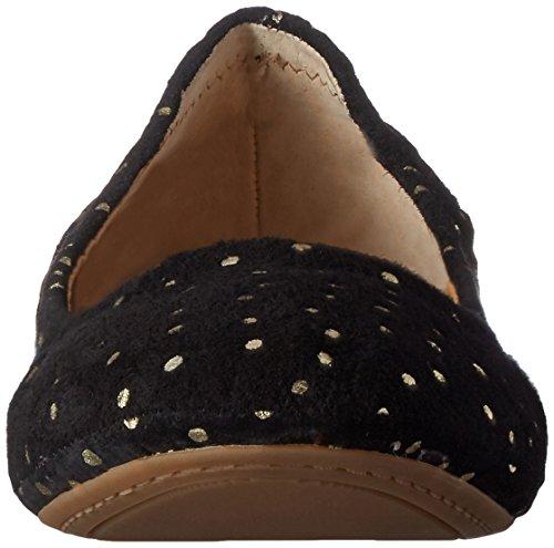 Ballerinas Leder Flach Black Brand Lucky Gold Frauen Emmie WU8nwSCx4q