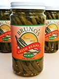 Bruno's Pickled Green Beans - Four Pack