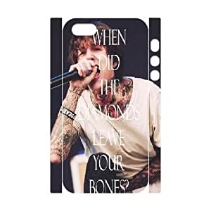 Bring Me The Horizon Custom 3D Cell Phone Case for iPhone 5,5S by Nickcase