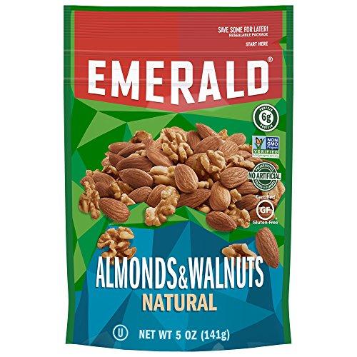 Emerald Natural Walnuts Almonds Resealable