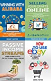 img - for Work From Home (Ecommerce) 4-in-1 Bundle: Passive Income + Alibaba + eBay + Etsy (Starting A Business, E-Commerce, How To Make Money Online, Make Money From Home) book / textbook / text book