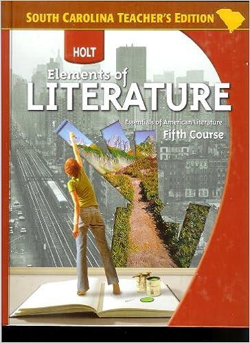 Essentials Of American Literature Teacher S Edition