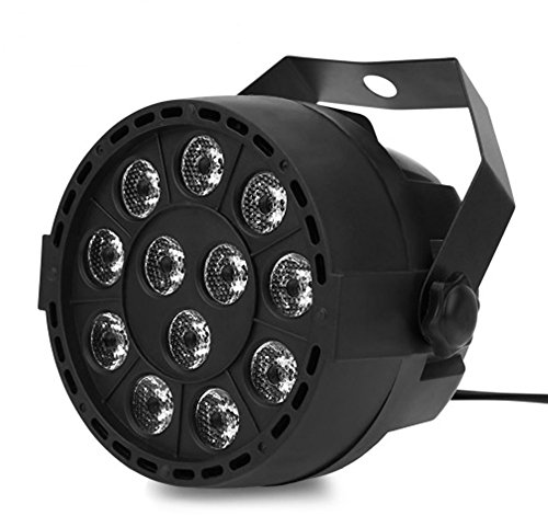LED Stage Lights 18 RGB PAR LED DMX Stage Lighting Effect Led Flat for DJ (Wheel City Mn)