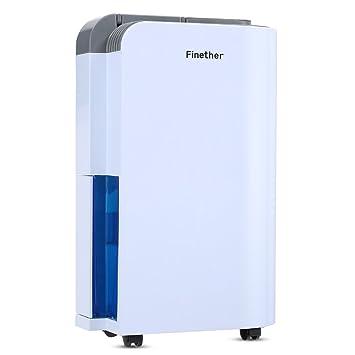 12L/Tag elektrischer Entfeuchter Luftentfeuchter Anion Luftreiniger ...