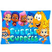 Custom Bubble Guppies Molly Gil Goby Deema Oona Nonny Ideas Two Sides Printed for 20 X 30 Inch Zippered PillowCases (04)