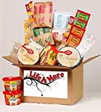 Student Care Package/Food Basket - Cold Winters Night/Day - College/Military Care Package - Birthday Food Gift