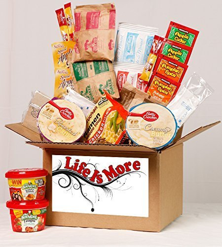 Student Care Package / Food Basket - Cold Winters Night / Day - College / Military Care Package -- Birthday Food Gift (Sending Care Packages)