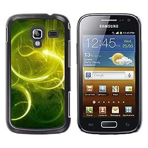 TopCaseStore / la caja del caucho duro de la cubierta de protección de la piel - Nature Beautiful Forrest Green 59 - Samsung Galaxy Ace 2 I8160 Ace II X S7560M