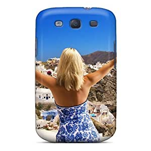 High-quality Durability Case For Galaxy S3(opa In A Village In Santorini)