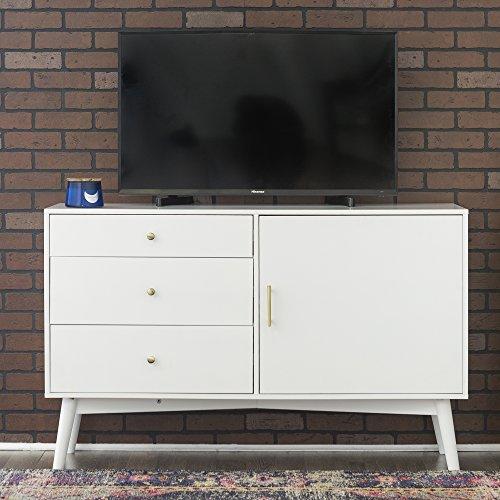 WE Furniture AZH52CMCWH TV Console, White
