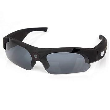 OOLIFENG Cámara De Gafas De Sol HD 1080P, Mini Cámara De Video con Protección UV