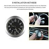 Car Clock, ONEVER Car Air Vent Quartz Clock Mini