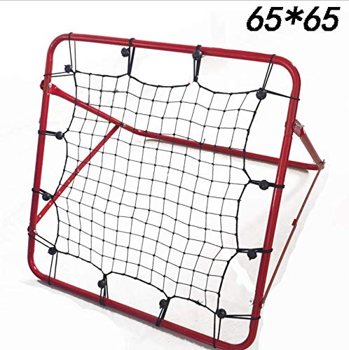 SHENGHUAJIE Aerial Multi Rebound Net 65cm x 65cm Adjustable Soccer Cricket Golf Training aids by SHENGHUAJIE