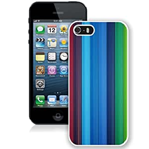 Colorful Pencils (2) Hard Plastic iPhone 5 5S Protective Phone Case