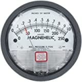 Dwyer Magnehelic Series 2000 Differential Pressure Gauge, Range 0-3.0'WC and 0-750 Pa