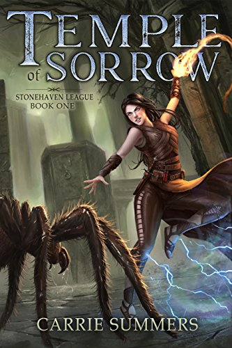 Temple of Sorrow: A LitRPG and GameLit Adventure (Stonehaven League Book 1) cover