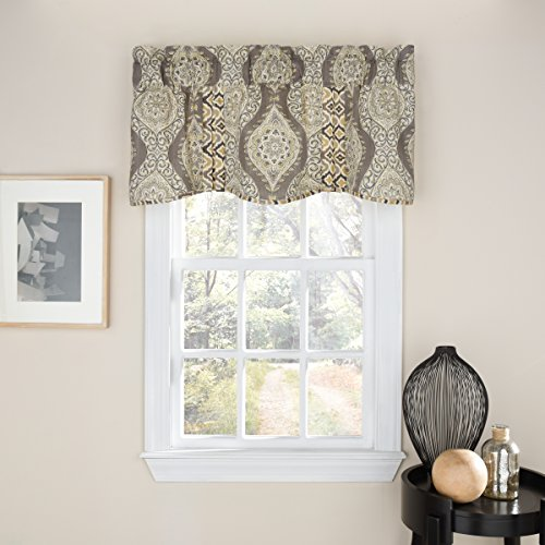 Used, WAVERLY Moonlight Medallion Window Valance, 18x52, for sale  Delivered anywhere in USA