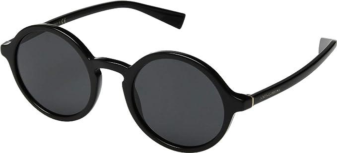 Dolce & Gabbana 0DG4342, Gafas de Sol para Hombre, Black, 49 ...
