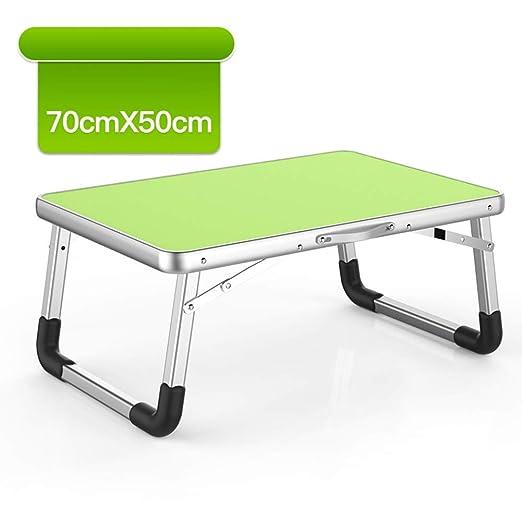 Nclon Plegable Plástico Ligero Mesa pequeña,Simple Escritorio Mesa ...