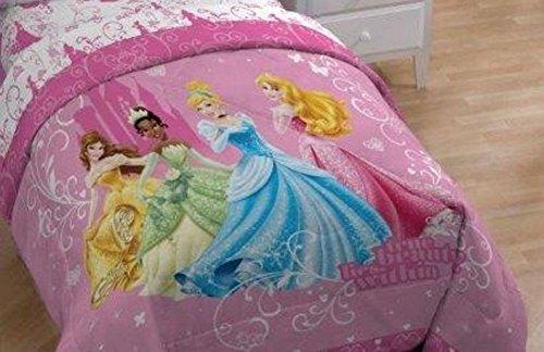 Disney Princess Quilt Comforter Cinderella Tiana Queen Size Disney Store