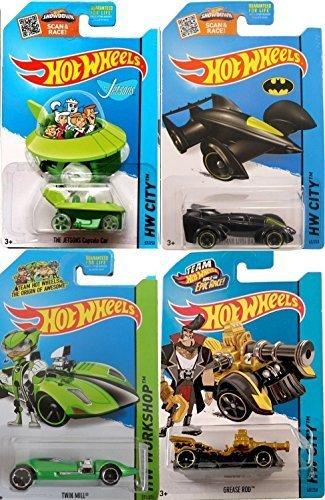 Character Hot Wheels Cars Batman Green Driver, Jetsons &