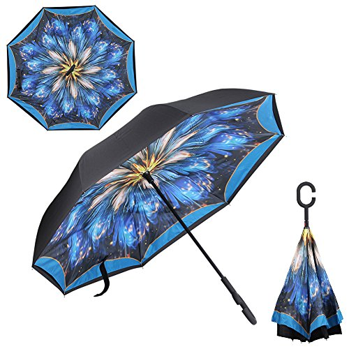 BTclassics Windproof Inverted Umbrella Protection product image