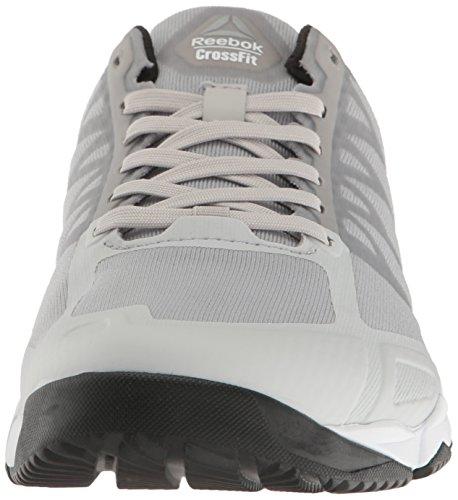 Reebok Damen Crossfit Speed TR Cross-Trainer Schuh Stahl / Weiß / Schwarz / Silber