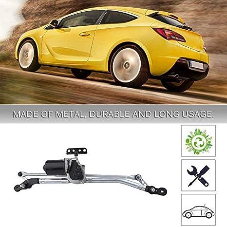 Wenwenzui-ES Motor Duradero del limpiaparabrisas de Varilla de varillaje de limpiadores con bastidores de limpiaparabrisas para Opel para Astra G: ...