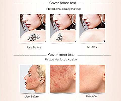 #222# 100% Original Dermacol base primer corrector concealer cream makeup base tatoo consealer face foundation contour palette - Giorgio Armani Concealer
