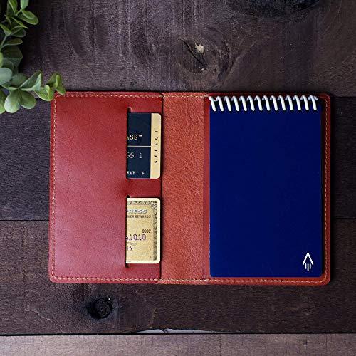 Coal Creek Leather Cover for Rocketbook Everlast Mini Smart Pocket Notebook 3.5x5.5