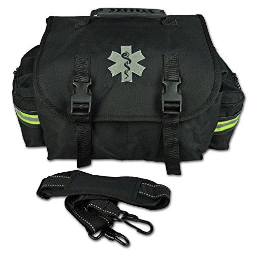 Lightning X Small EMT Medic First Responder Trauma EMS Jump Bag w/ Dividers (Stealth (Trauma Bag)