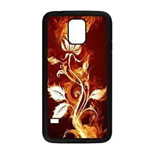 DIY phone case Beast On Fire cover case For Samsung Galaxy S5 AS1G7749086