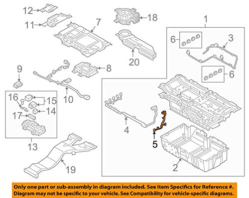 HYUNDAI OEM Sonata-Engine Control Module ECM PCU PCM Wiring Harness 37561E6100