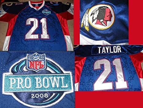promo code e6ba2 26bd3 Amazon.com : AUTHENTIC SEAN TAYLOR PRO BOWL JERSEY ON FIELD ...