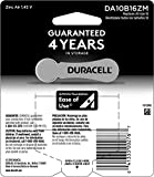 Duracell - Hearing Aid Batteries Size 10 (Yellow) - long lasting battery with EasyTab for ease of installation - 16 count