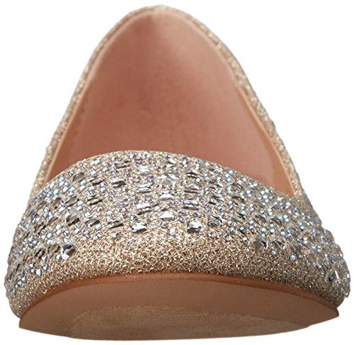 Ballerine Mesh Fabric beige Pleasertreat 06 Beige Donna nude Glitter 6xwFR15q
