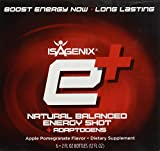 Isagenix e+ Healthy Energy Shot Apple Pomegranate 2oz - 6 pack
