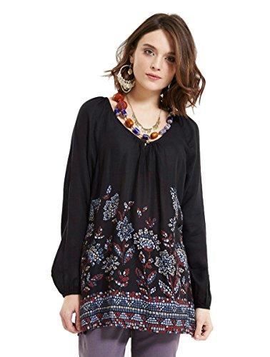 Deeprose Fashion -  Maglia a manica lunga  - Maniche lunghe  - Donna