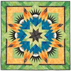 Summer Solstice Foundation Paper Piece Judy Niemeyer Quilt Pattern