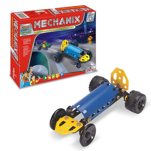 mechanix steel parts nx 0 series for 7 and above years children  Multi color
