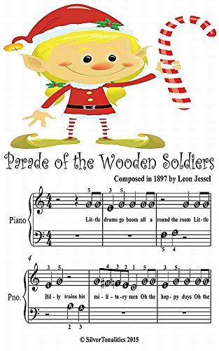 Parade of the Wooden Soldiers Beginner Tots Piano Sheet Music