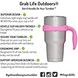 Grab Life Outdoors 30 Oz Tumbler Handle - Perfectly Fits YETI Rambler, Ozark Trail & Many More - Handle Only