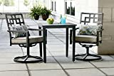 Ty Pennington Style 3-Piece Jefferson Cushioned Bistro Set