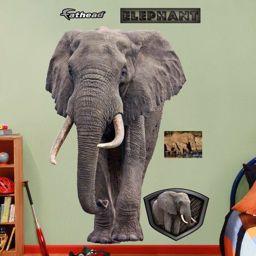 FATHEAD Elephant Graphic Wall Décor