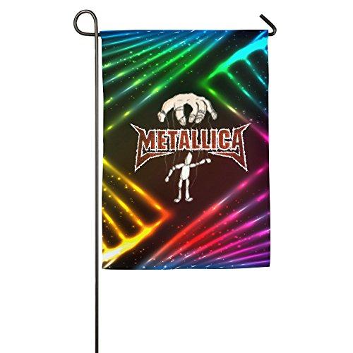 Metallica-Master Of Puppets Garden Sports Flag Athlete Decorative - Patch Logo 30th Anniversary