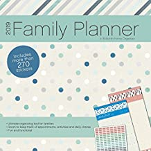 2019 Family Planner (w/bonus sticker sheet) Wall Calendar