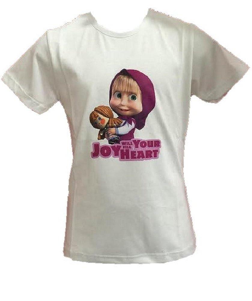 Guess T Shirt Manica Corta Bambina Fuxia
