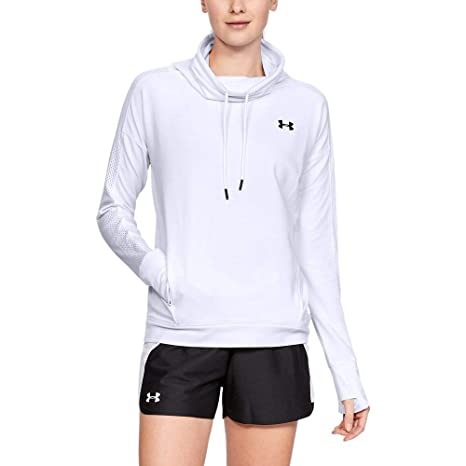 10aec776b4 Amazon.com: Under Armour Women's Featherweight Fleece Funnel Neck  Sweatshirt: Under Armour: Clothing